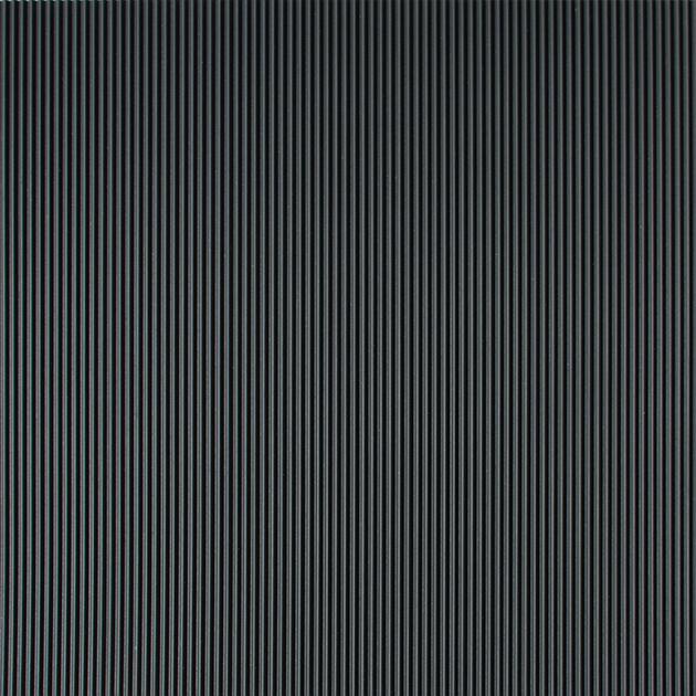 Corrugated Matting Black