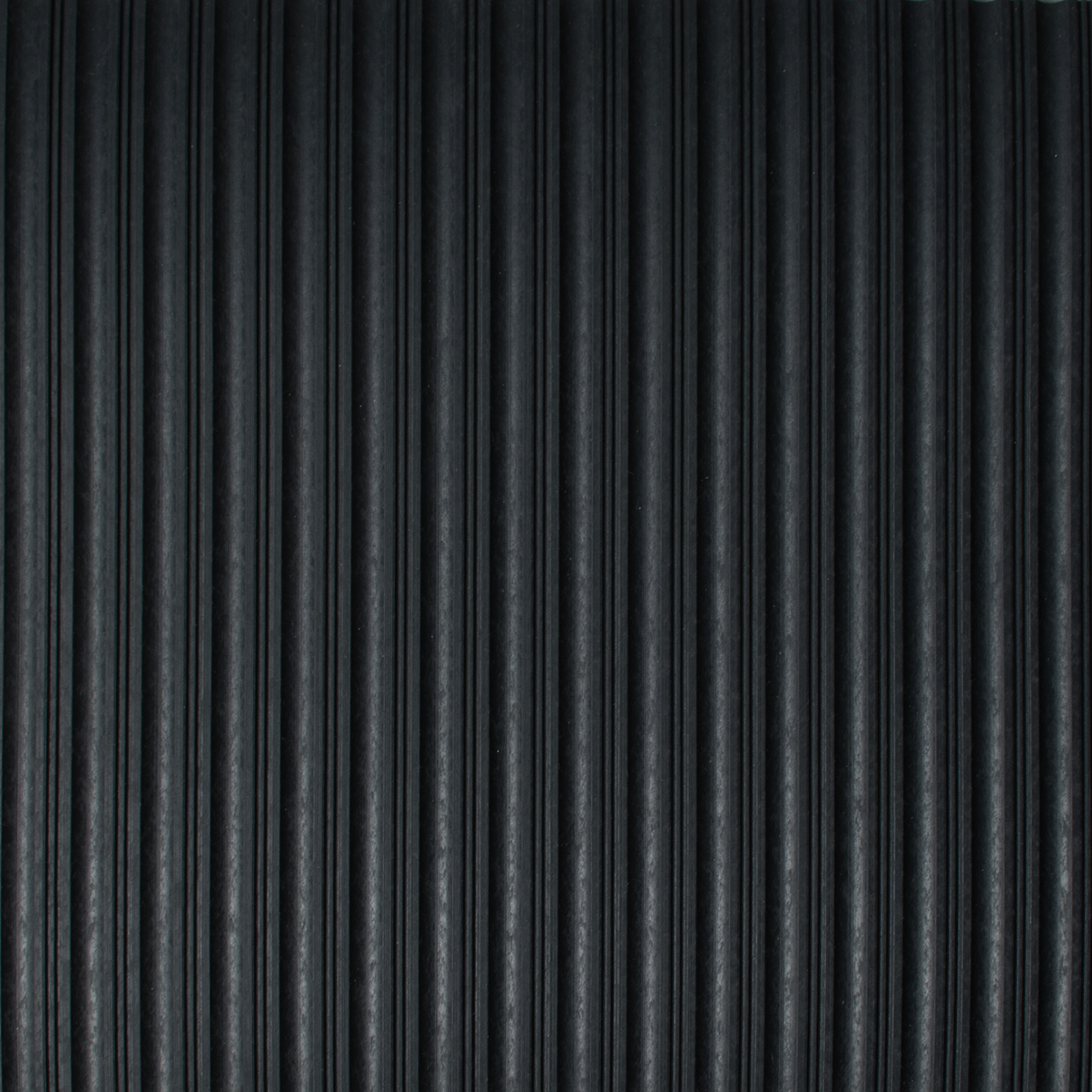 Drainage Matting | Ribbed Mat | Flat Rib Black