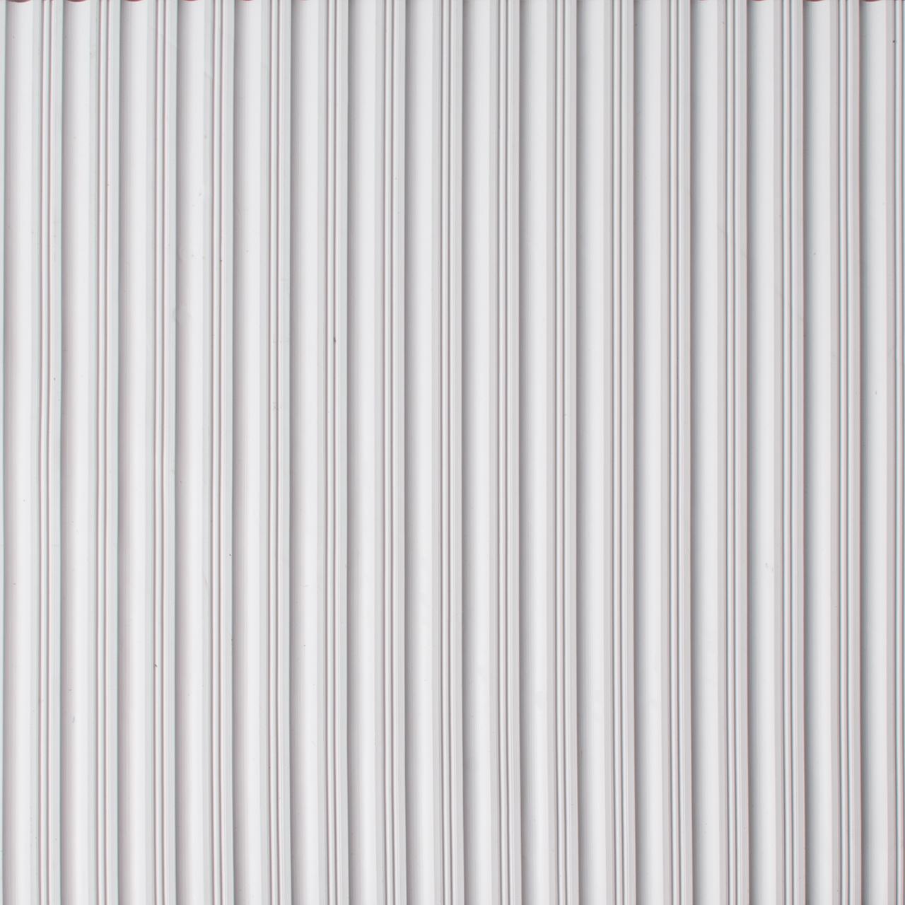 Drainage Matting | Ribbed Mat | Flat Rib White