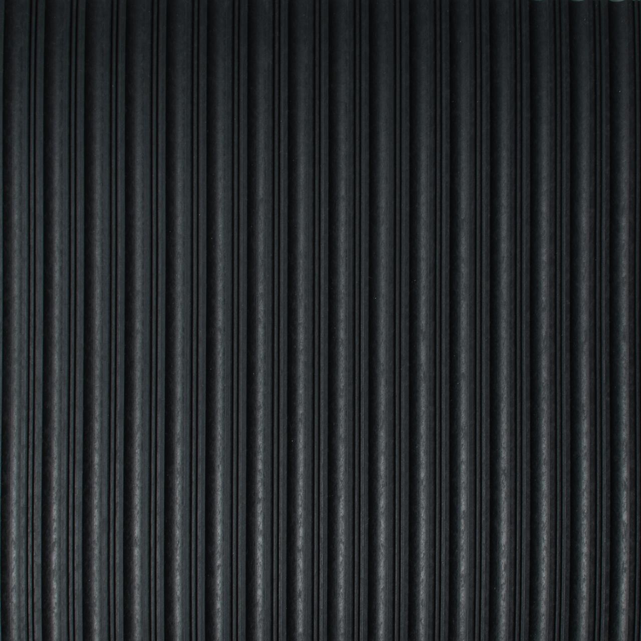 Drainage Matting | Ribbed Mat | Flat Rib Black
