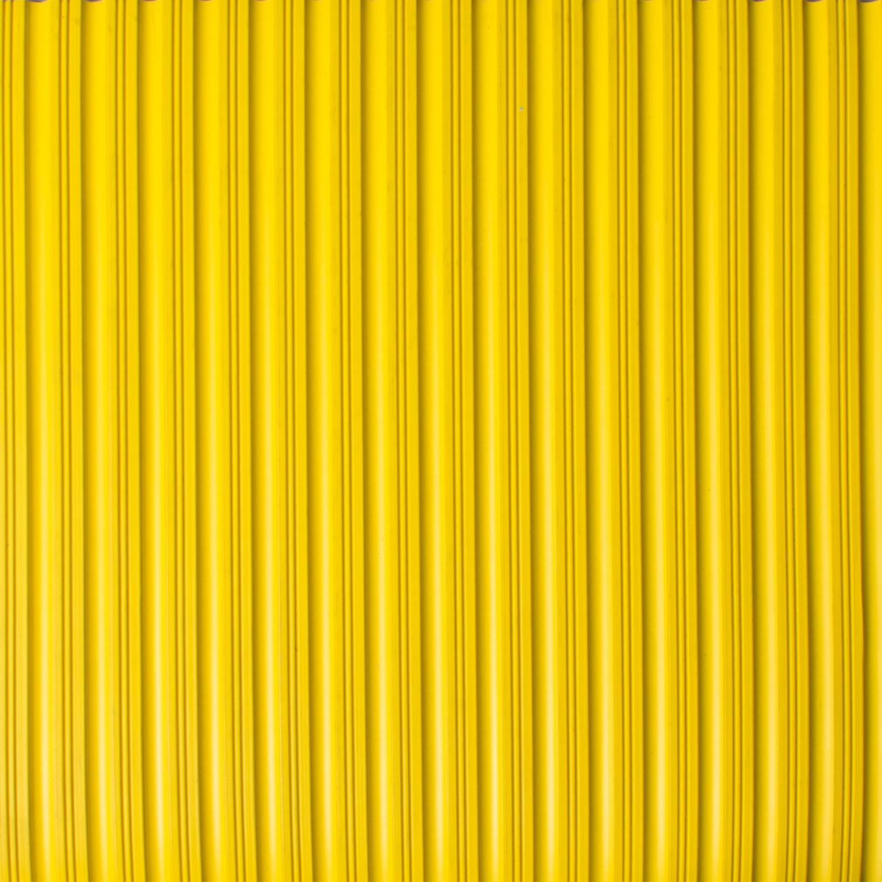 Drainage Matting | Ribbed Mat | Flat Rib Yellow